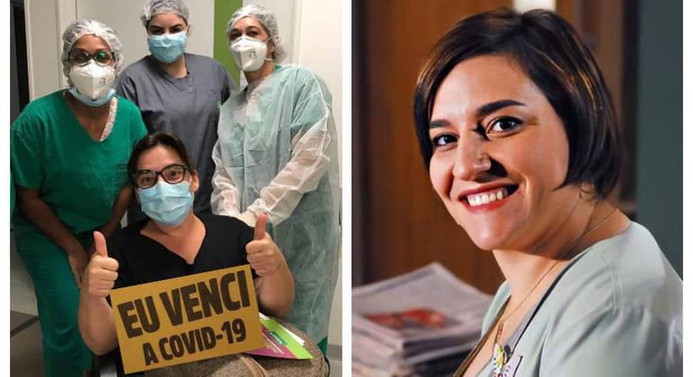 """""""Quando vi, estava com 50% do pulmão tomado por esse vírus infeliz que tirou minha voz"""""""