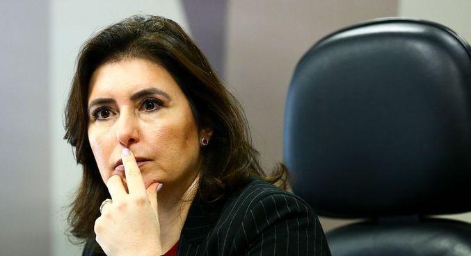 Simone Tebet pode ser a primeira mulher a ocupar cargo de presidente do Senado