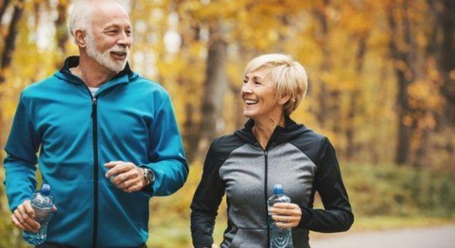 Os hábitos saudáveis são chave para uma boa velhice