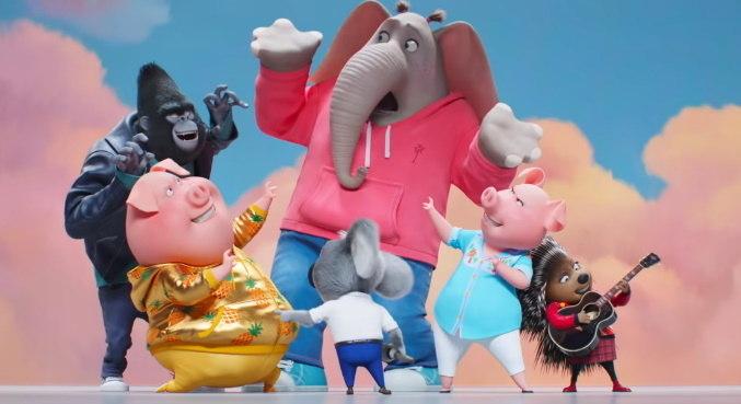 Grupo de animais cantores está em busca de um sonho no trailer de 'Sing 2'