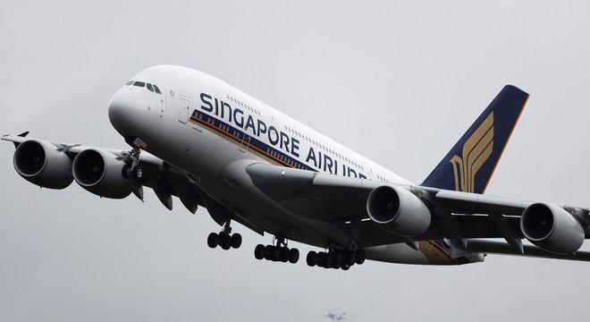 Jato com capacidade para mais de 500 passageiros está em operação há 12 anos