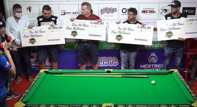 Torneio em Belém, no Pará, pagou R$ 20 mil em prêmios
