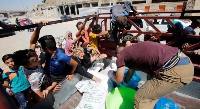 Região síria de Mosul sofre com o drama da fome