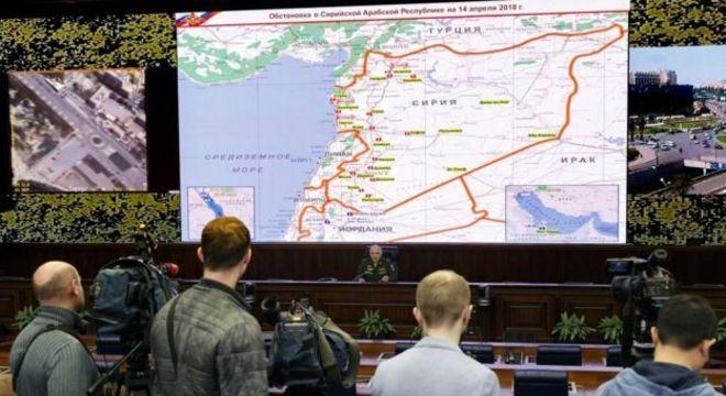 General russo Sergei Rudskoy comenta situação da Síria