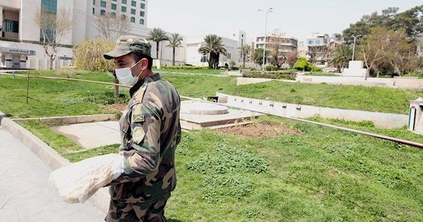 Syrian government announces 1st death from new coronavirus
