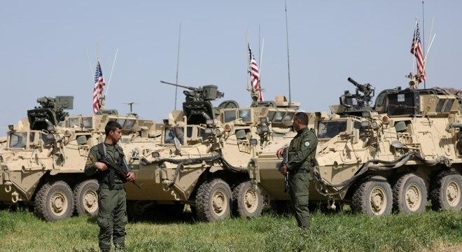 EUA confirmou início do processo de retirada das tropas militares da Síria