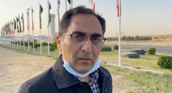 Sirous Asgari também foi libertado pelos EUA e chegou ao Irã nesta quinta
