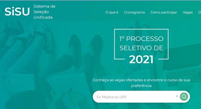 Sisu: estão abertas as inscrições para seleção de estudantes para universidades federais