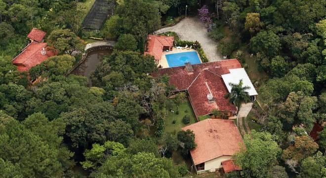 Sítio localizado no município de Atibaia (SP) é atribuído ao ex-presidente Lula