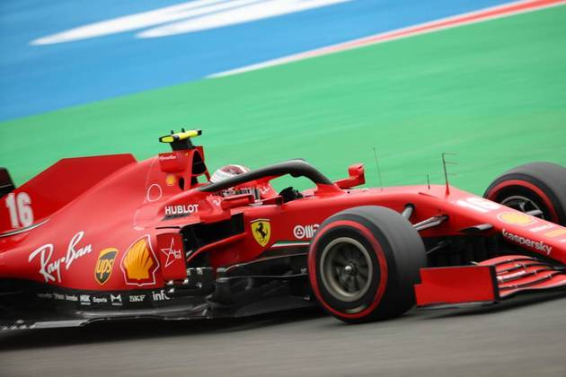 Situação da Ferrari em Spa é totalmente dramática (Foto: AFP)