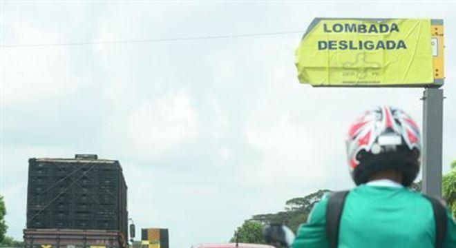 Situada em Ipojuca, a lombada foi desligada ao meio-dia desta quinta-feira (14) e voltará a funcionar na próxima segunda (18)