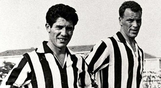Omar Sívori e John Charles, da Juventus