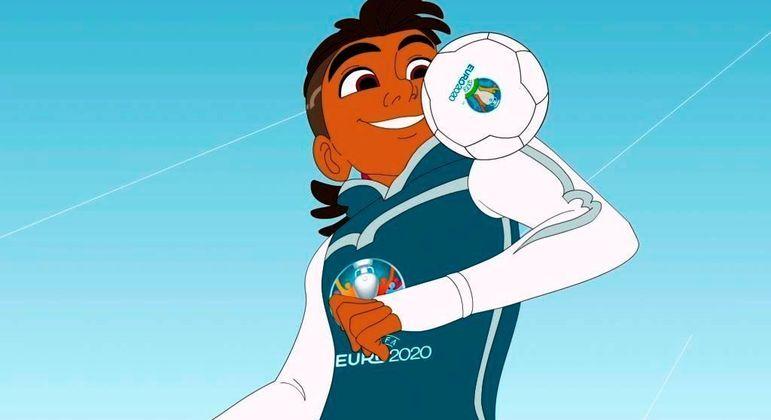 "O ""Skillzy"", mascote da Euro2020"