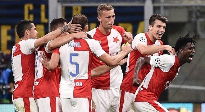 A comemoração do Slavia