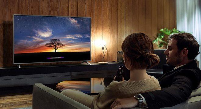 Smart TV NanoCell 4K LG 50 em promoção de R$ 3.699,00 por R$ 2.799,00 na Fast Shop