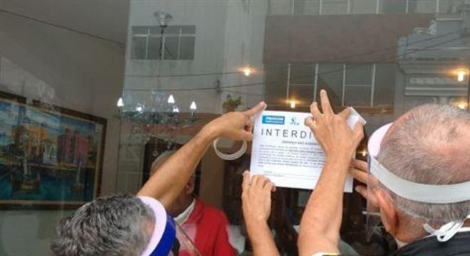 Só nesse domingo, último dia da medida, órgão fechou 50 estabelecimentos