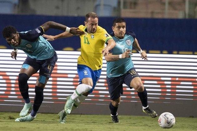 Sobe: A equipe equatoriana apresentou volume de jogo no segundo tempo, conseguiu chegar ao empate e se classificou às quartas de final da Copa América. / Desce: Apesar da intensidade na segunda etapa, o time do Equador mostrou deficiência na tomada de decisão de algumas jogadas.