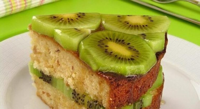 sobremesas com kiwi