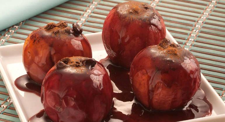 Sobremesas com maçã