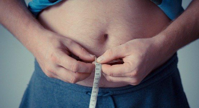 Cerca de 28,3% dos pacientes analisados na pesquisa tinham sobrepeso