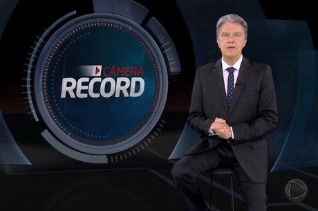 Marcos Hummel comanda o 'Câmera Record'