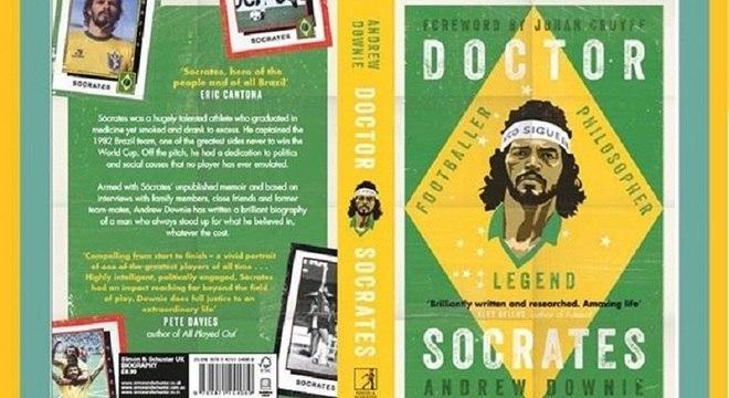 Biografia de Sócrates disputará prêmio de melhor livro de esportes no Reino Unido