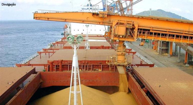 O resultado refletiu uma alta de 36% das exportações