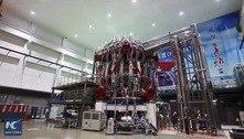 Sol artificial chinês atinge novo recorde de temperatura