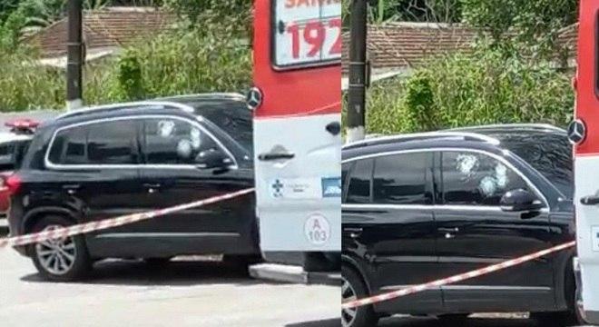O atentado ocorreu na avenida Monteiro Lobato, por volta das 10h30