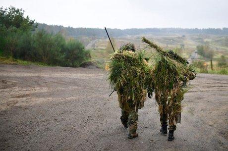 O exército alemão não chega a gastar 2% do PIB, como é esperado dos membros da Otan