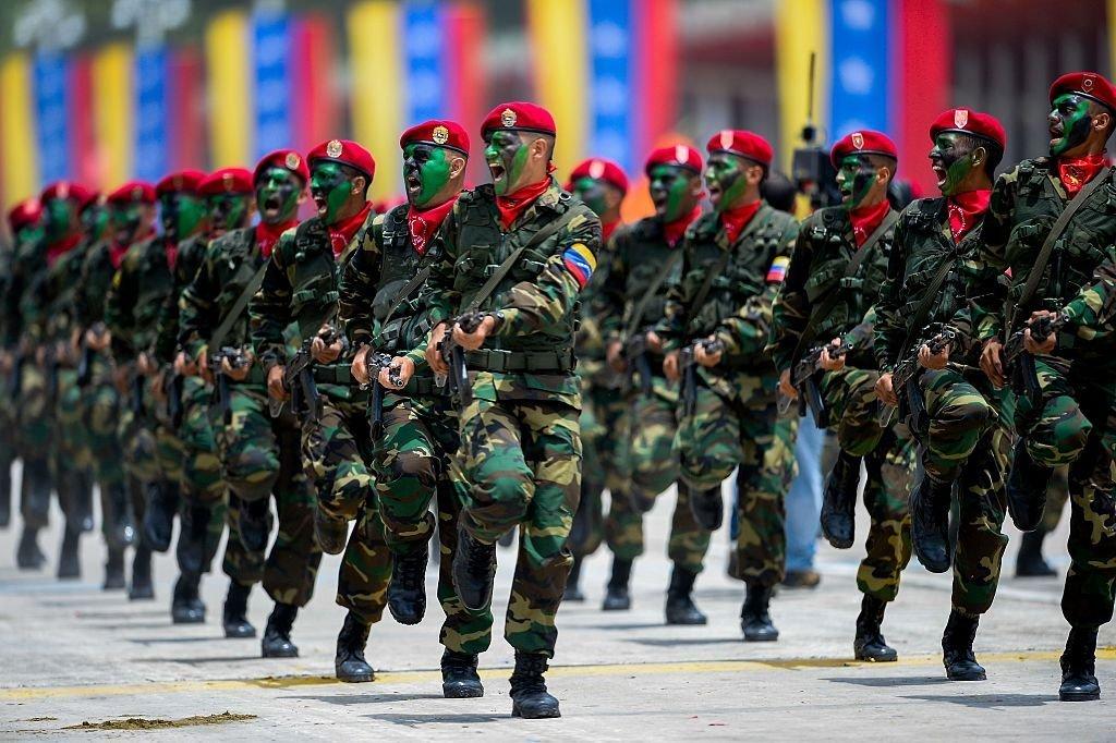 Qual é o tamanho real do poderio militar da Venezuela
