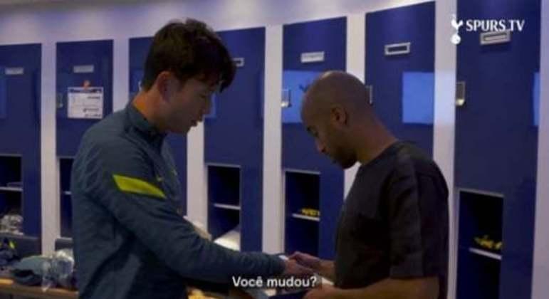 Son e Lucas Moura - FIFA 22