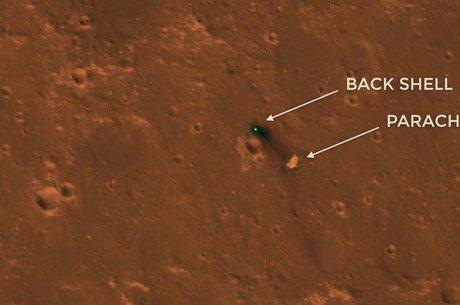 Sonda chegou em Marte em novembro
