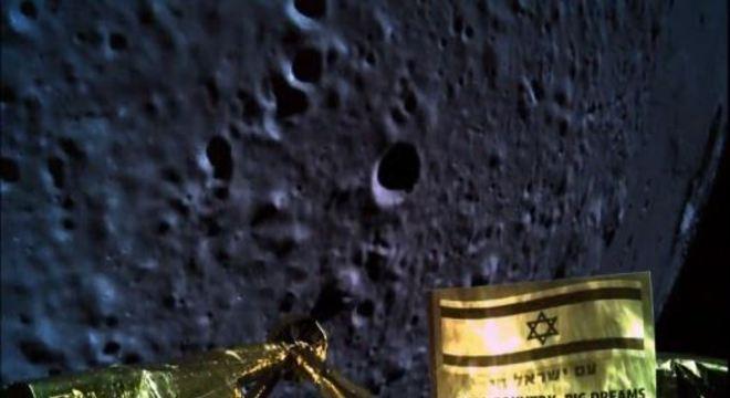 Após primeira tentativa fracassada, Israel criará nova nave para chegar à Lua
