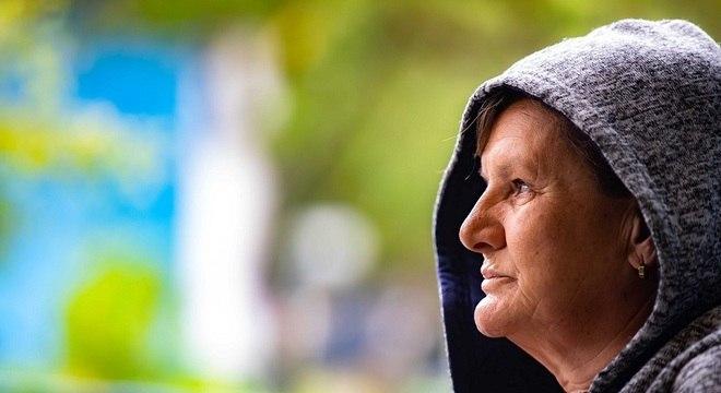 Dona Sônia mora há 30 anos em centros de acolhida de idosos da Prefeitura de SP