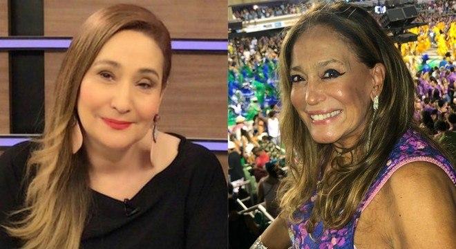 Sonia Abrão e Susana Vieira trocaram farpas durante programa de TV