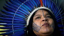Justiça suspende investigação contra a líder Sônia Guajajara
