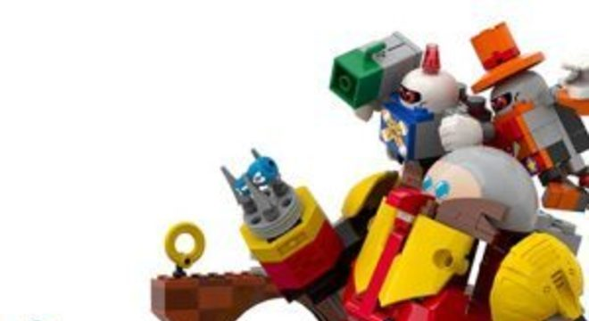 Sonic the Hedgehog terá conjunto de peças de Lego