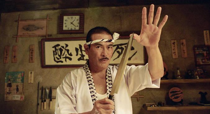 Sonny Chiba em 'Kill Bill', filme de Quentin Tarantino