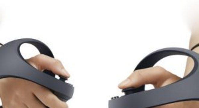Sony revela os controles de VR para o PlayStation 5