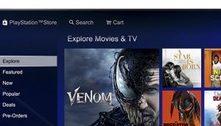 Sony vai encerrar venda e aluguel de filmes pela PlayStation Store