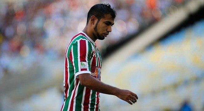 Sornoza: desalento no Fluminense. Nem sobra do jogador do Independiente del Valle