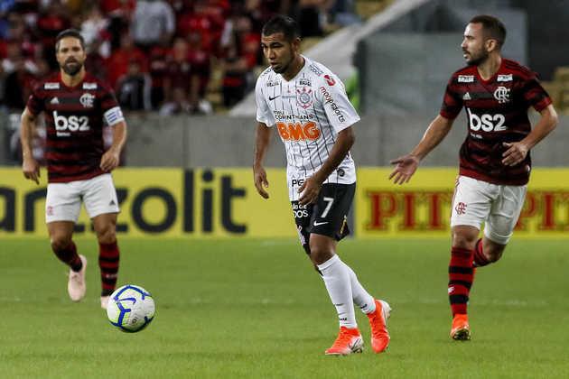 Sornoza – meio-campo – 27 anos – emprestado ao Tijuana (MEX) até dezembro de 2021 – contrato com o Corinthians até dezembro de 2022