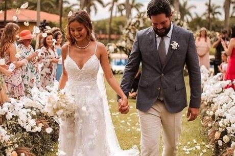 Biah e Sorocaba se casaram em Jaguariúna