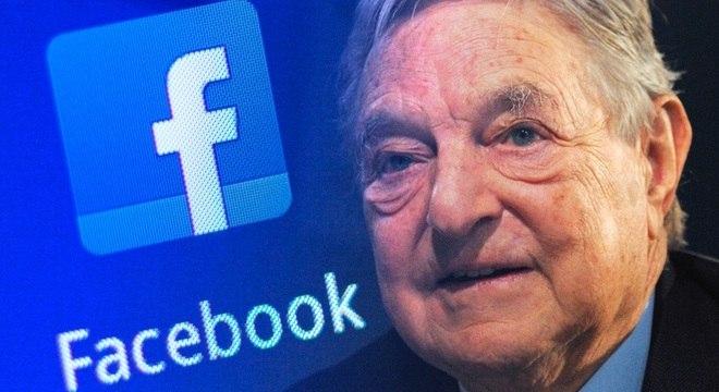 """O Facebook diz ter pedido uma investigação contra Soros após ele chamar a rede de """"ameaça"""""""