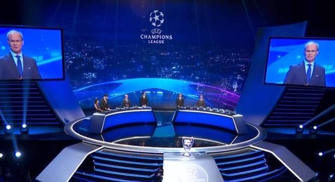 A UEFA sorteou os grupos da Liga dos Campeões 2018/19