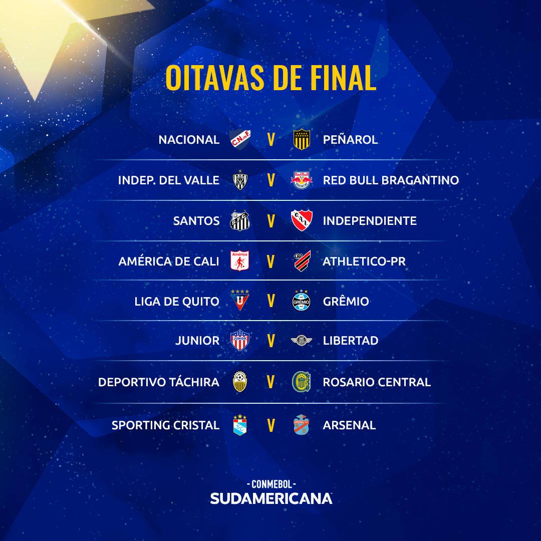 Caminho até o título também não será fácil na Copa Sul-Americana
