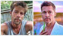 Sósia do Brad Pitt que não encontra namorada: 'Não acham que é real'