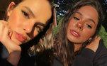 A influenciadora Bruna Mariane tem 142 mil seguidores no Instagram e também é conhecida pela semelhança com Marquezine