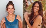 As semelhanças entre elas, no entanto, vão além da aparência: a sósia da famosa também se chama Bruna